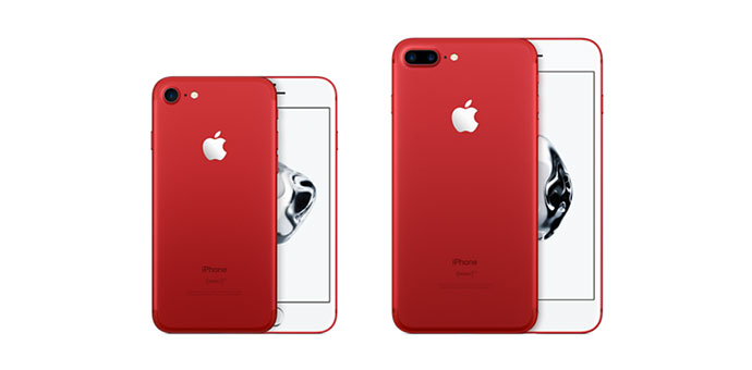 iPhone 7'nin Yeni Rengi 'Product Red'